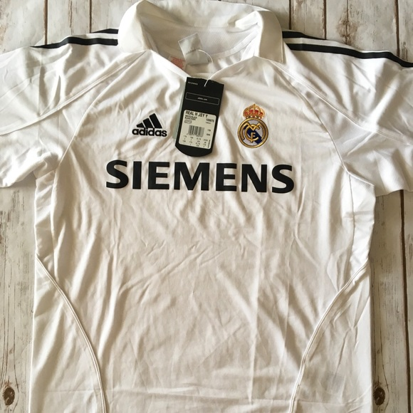 official photos 261df 5566c BNWT Real Madrid Home Jersey NWT
